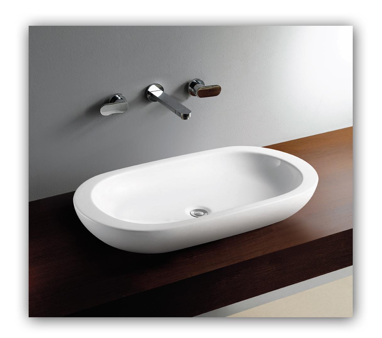 aufsatzwaschbecken 80 cm sf17 hitoiro. Black Bedroom Furniture Sets. Home Design Ideas